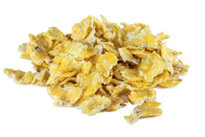 flaked maize for animals