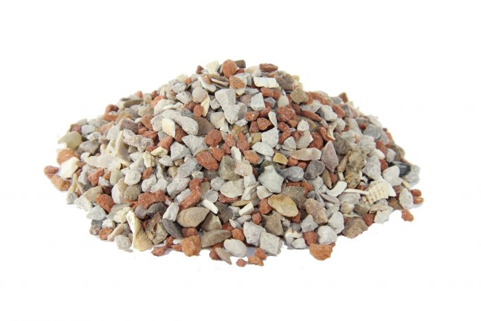 pigeon grit with red stone