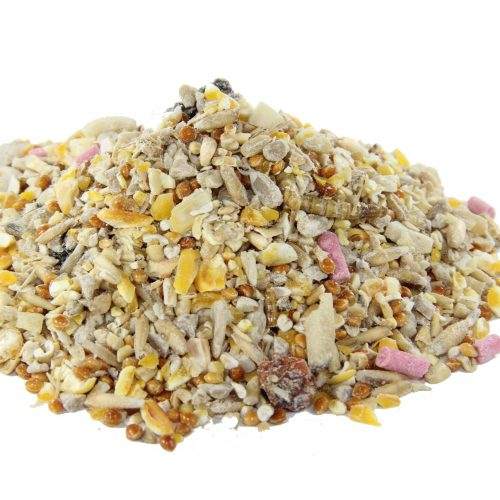 Bucktons Robin and Songbird Food Bucktons Robin and Songbird Food  is a high energy nutritious blend enriched with insects and berries. Bucktons Robin and Songbird Food is ideal for all year round feeding, but due to high fat content, especially good to feed in the colder months. further information on Bucktons Robin and Songbird Food can be found here