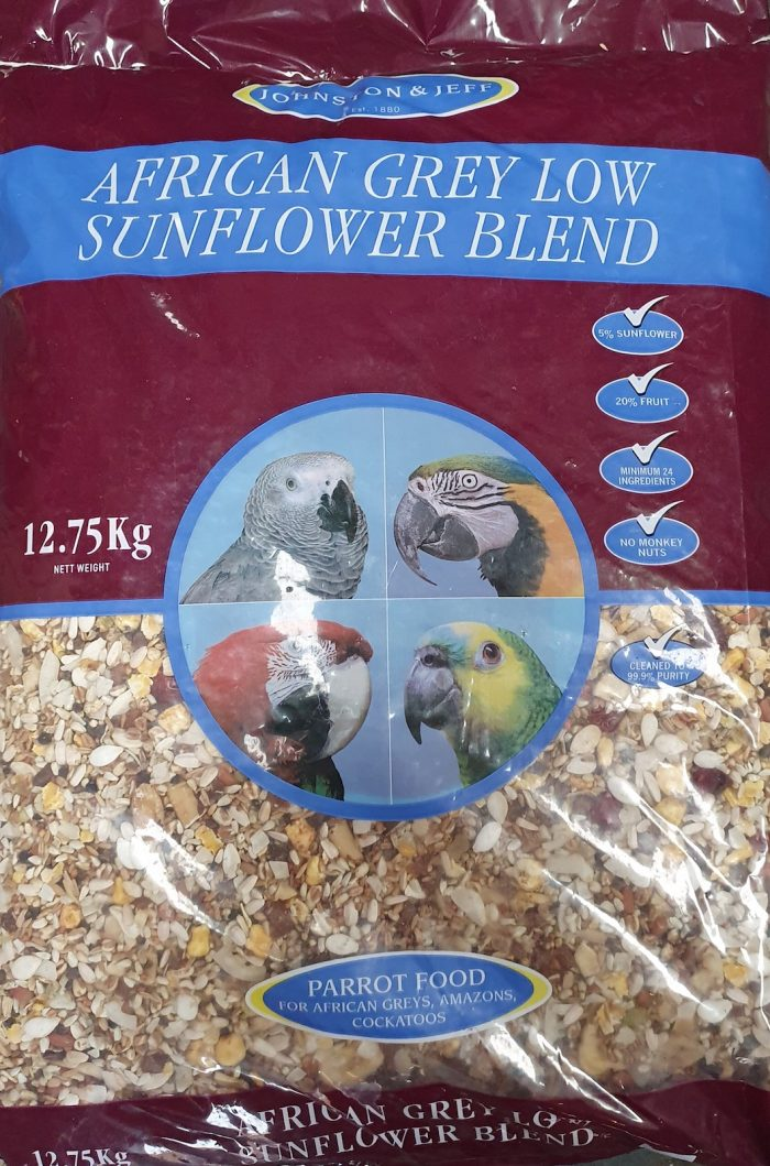 Johnson and Jeff African Grey Parrot Food